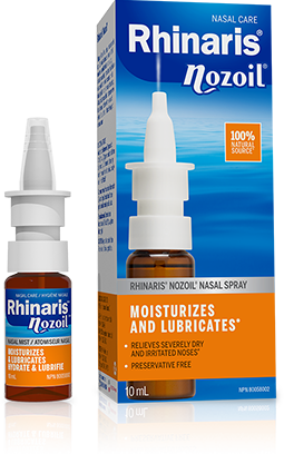 Nozoil Nasal Spray for Nasal Irrigation and Dry Sinuses | Rhinaris